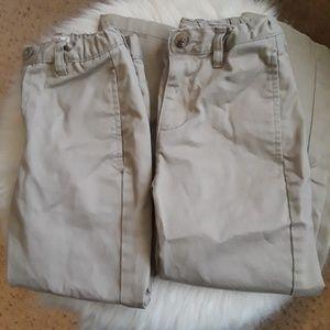 Cat & Jack Khaki School Uniform Pants - 2 Pairs